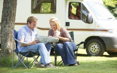 Dovolená karavanem vnašem rodinném kempu